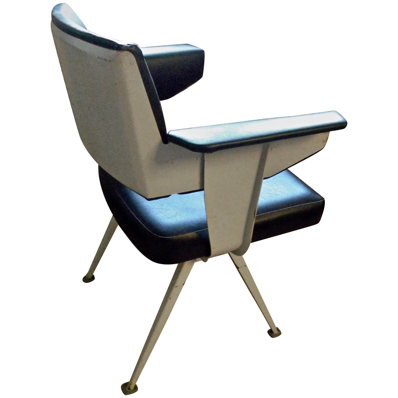 F. Kramer Industrial Armchair, Holland For Sale