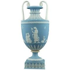 Miniature Jasperware Vase, Domestic Employment, Wedgwood, circa 1790