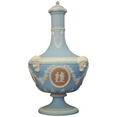 'Barber Bottle' Vase, Tricolor, Wedgwood, circa 1880