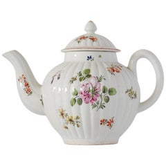 Teapot, Derby Porcelain Works, circa 1776