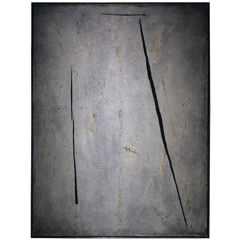 Abstract Painting Titled Bleecker Street by Artist Brian Hagiwara