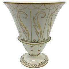 Art Deco Porcelain Vase by Guido Andlovitz for Lavenia