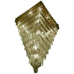 Giant Murano Glass Chandelier