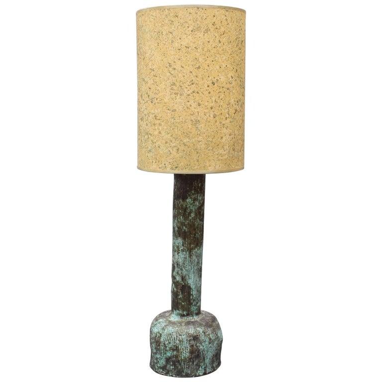 Midcentury Ceramic Lamp For Sale