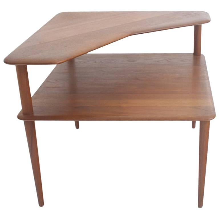 'Minerva' Side Table by Peter Hvidt & Orla Mølgaard-Nielsen, Denmark, 1950s