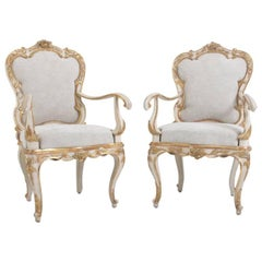 Armchairs, Italy, Second Half of the 18th Century