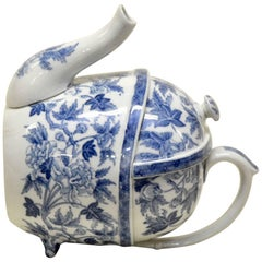 1900s S.YP. Simple Yet Perfect Peony Wedgwood Patent Teapot Made in England