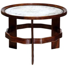 1930s by Vittorio Valabrega Italian Design Art Deco Coffee Table