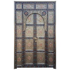 Amazing Meknes Door All Inlaid, Moroccan