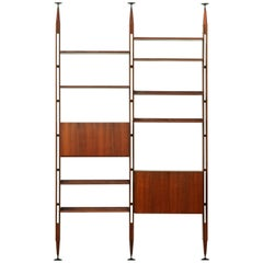 Iconic LB7 Bookcase by Franco Albini for Poggi