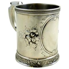 Victorian Sterling Silver Baby Mug or Cup