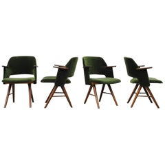 Set of Four Cees Braakman for Pastoe Armchairs