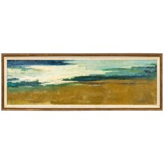 """""""Sand and Sea"""" Painting by Betty Winn 'Am. 1916 -2000'"""