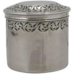 "18th Century French Sterling Silver ""Boite De Toilette"""