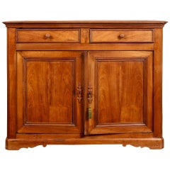 19th Century Louis Philippe Cherrywood Server Cabinet