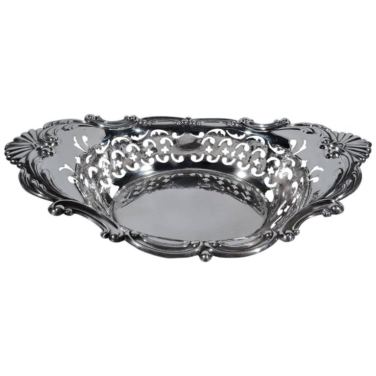 Gorham Classical Pierced Sterling Silver Bowl