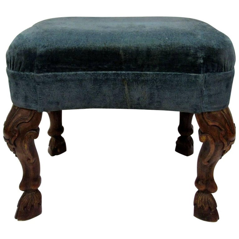 19th Century Italian Footstool