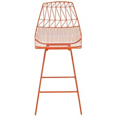 Contemporary, Wire, Lucy Bar Stool by Bend Goods