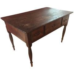 Single Board 18th Century American Tavern Table