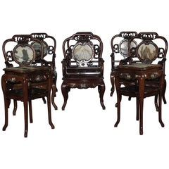 Late 19th Century Rosewood Chairs
