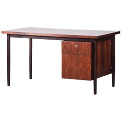 Brazilian Rio Rosewood Desk for Forma, 1960s