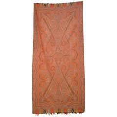 Late 19th Century French Kashmir Paisley Shawl