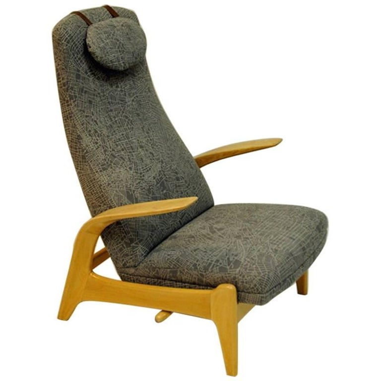 Rock 'n Rest Lounge Chair from 1960s by Rastad & Relling, Norway