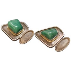 Adventurine Cufflinks