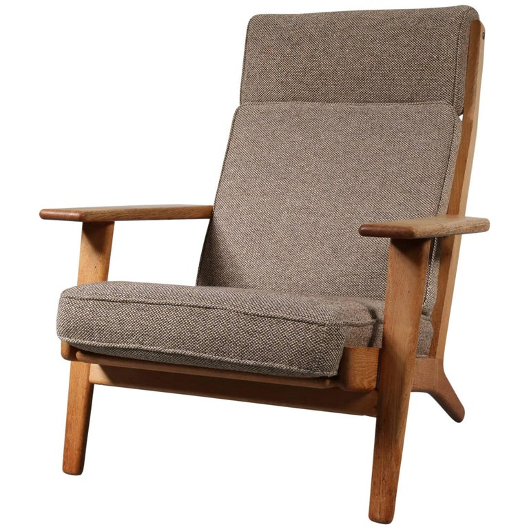 Marvelous Hans J Wegner Ge290 Lounge Chair Denmark 1950 Caraccident5 Cool Chair Designs And Ideas Caraccident5Info