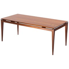 Brazilian Contemporary Dining Room Table in Hardwood