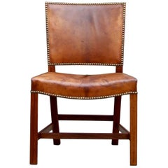 Kaare Klint 'Red' Chair, Model No. 4751 by Rud, Rasmussen, circa 1930
