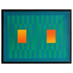 Francis Tansey 'Linear Green'