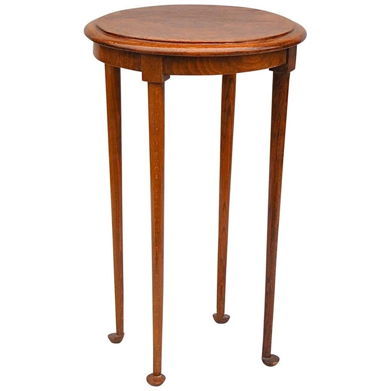set kitchen image pedestal oak oakround round honey table dining ella