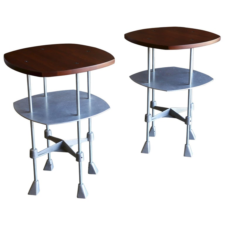 Rare Pair of Side Tables by Robert Josten