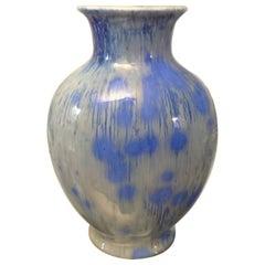 Royal Copenhagen Art Nouveau Crystalline Glaze Vase by Ludvigsen