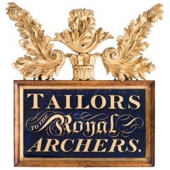 'Tailors to the Royal Archers'