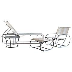 Set of Bronze Outdoor Furniture by Kipp Stewart for Terra of California