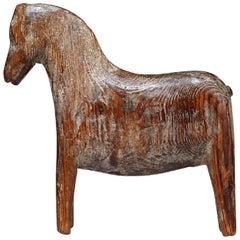 "Primitive Folk Art ""Darla"" Horse"