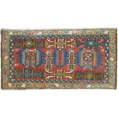 Rare Size Persian Heriz Panel Rug
