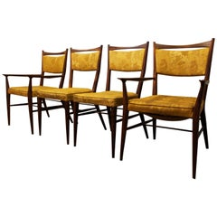 Set of Four Midcentury Paul McCobb Irwin for Calvin Dining Chairs