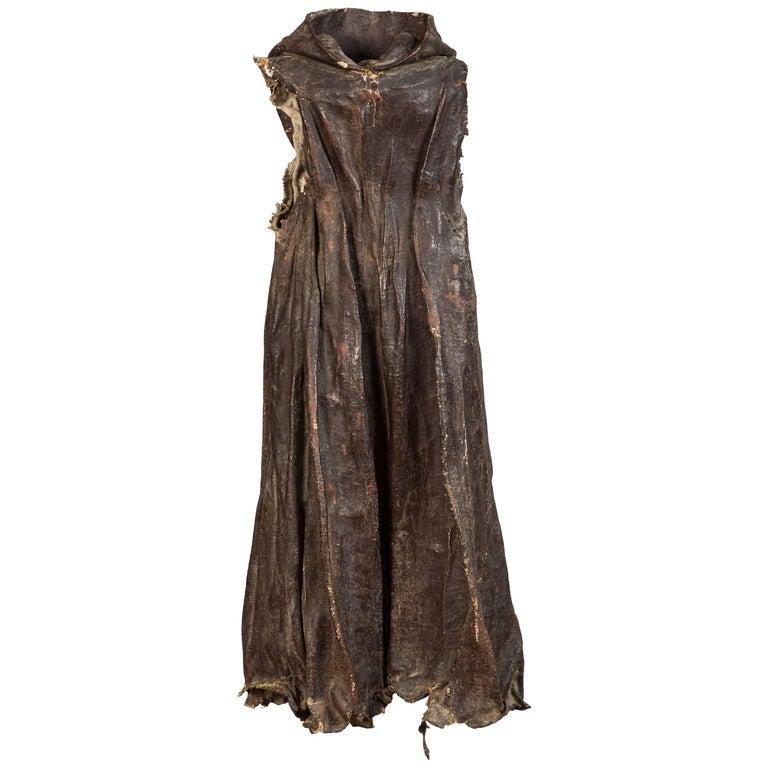 Antique Spanish Colonial Santos Cloak For Sale