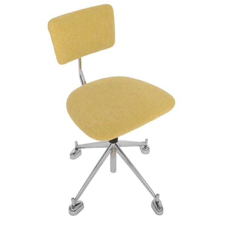 Jørgen Rasmussen Industrial Danish Modern Kevi Adjustable Office Chair