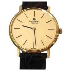 Universal Geneve Dress Watch 18-Karat Gold