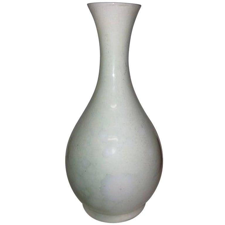 Royal Copenhagen Crystalline Vase Green For Sale At 1stdibs