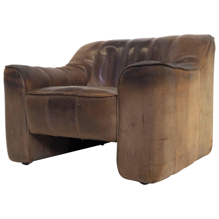 De Sede Leather Easy Chair Love Seat