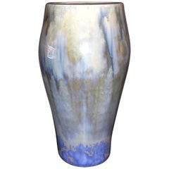 Royal Copenhagen Valdemar Engelhart Crystalline Vase from 1893