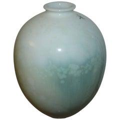Royal Copenhagen Crystalline Glaze vase by Søren Berg from 1925