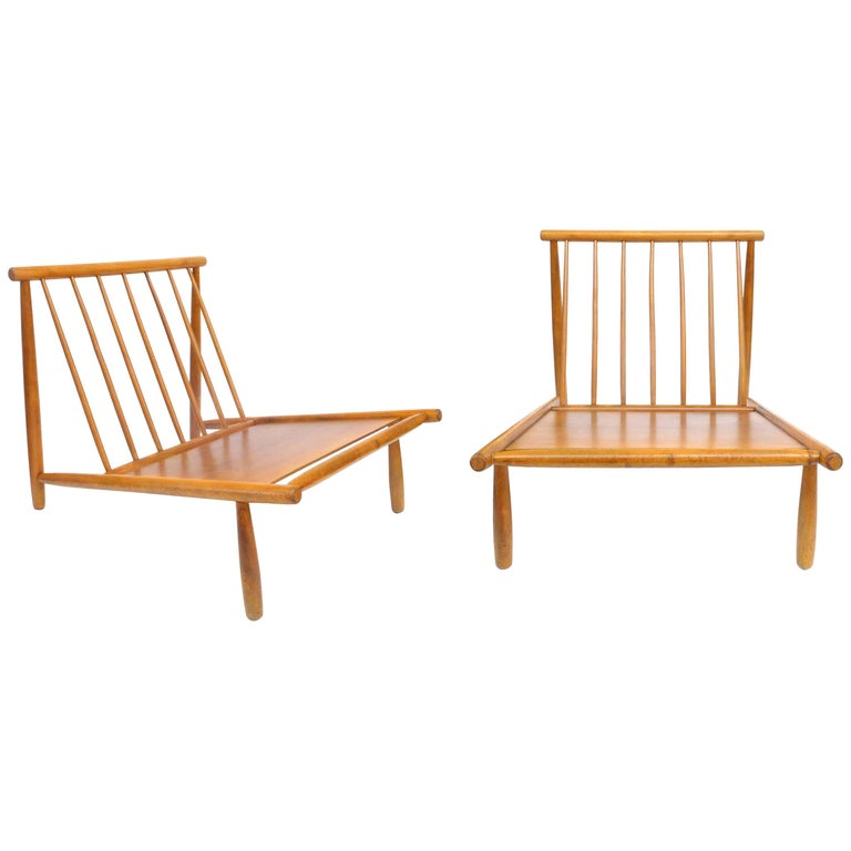 "Pair of ""Domus 1"" Lounge Chairs by Alf Svensson for DUX For Sale"