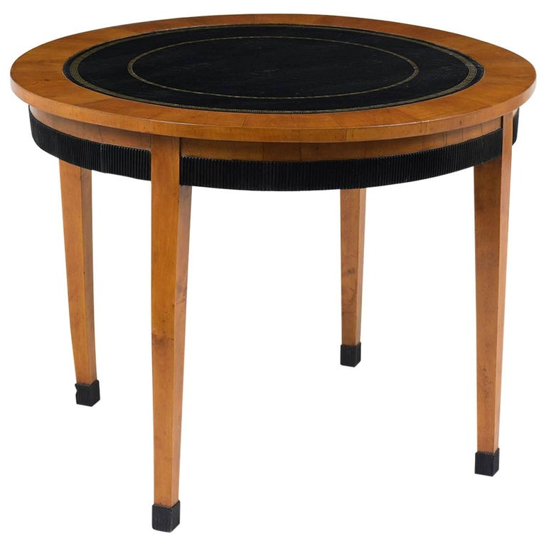 French Empire Round Centre Table