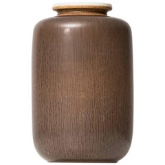 Berndt Friberg Ceramic Vase by Gustavsberg in Sweden